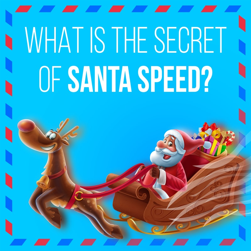 Culture Story: #7 How does Santa Claus deliver gifts?