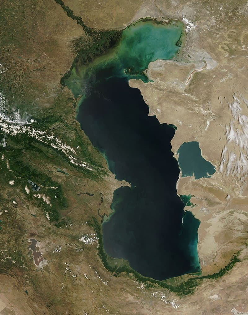 Geography Story: #2 Caspian lake-sea