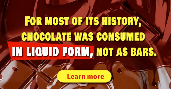 Culture Story: 14 short facts about chocolate to blow your mind