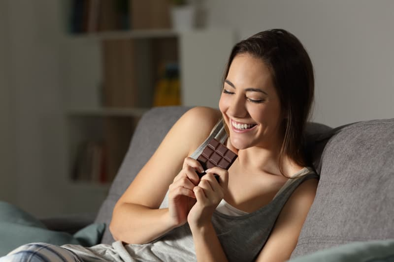 Culture Story: #13  Chocolate can produce mild antidepressant effects because of its effect on endorphins.