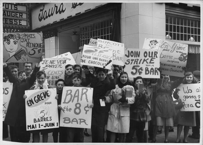 Culture Story: #4 In the 1940s, hundreds of Canadian kids went on strike to protest chocolate price surges.