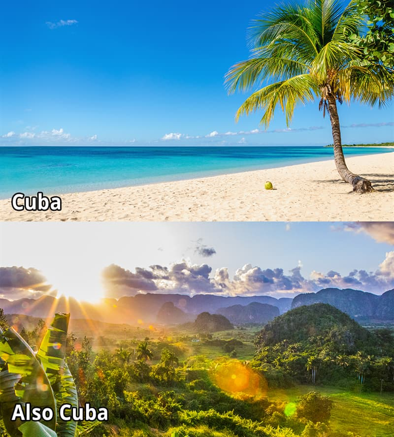 Geography Story: #7 Cuba has a surprisingly diverse geography