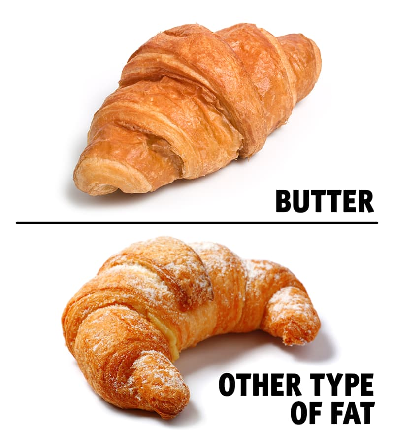 Culture Story: #1 You can tell what a French croissant is made of by its shape