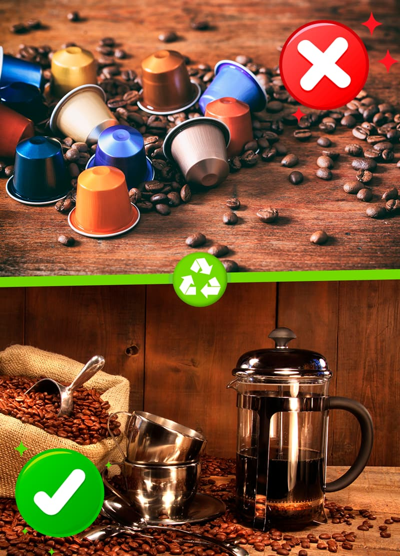 Science Story: #5 Coffee pods
