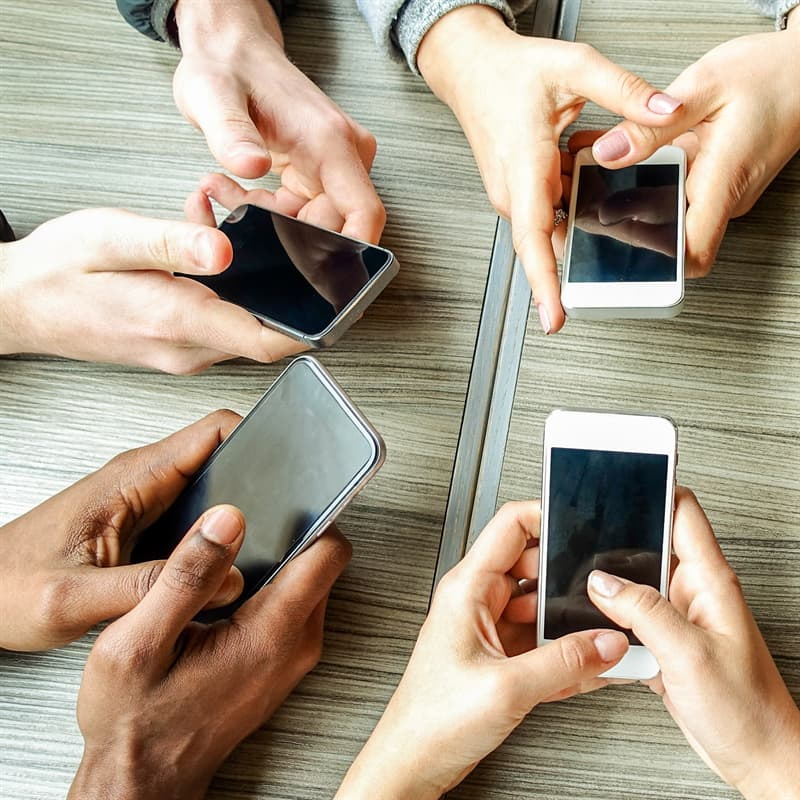 Society Story: #3 The texting thumb condition
