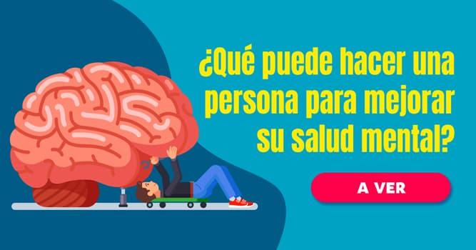 Personalidad Historia: ¿Qué puede hacer una persona todos los días para mejorar su salud mental?