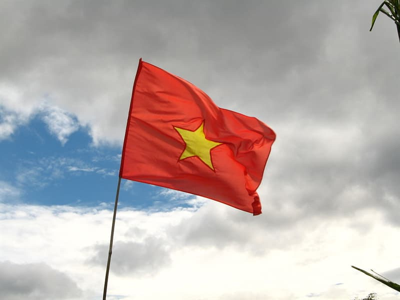Geography Story: #6 The national flag has a great significance for the people of Vietnam