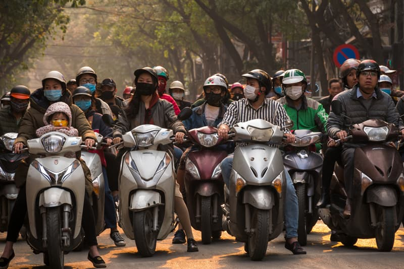 Geography Story: #4 The preferred mode of transportation is motorcycling