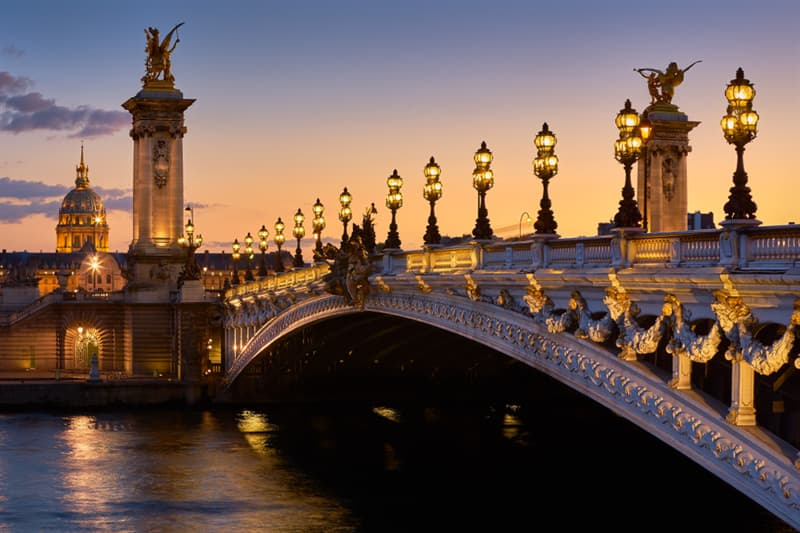 Geography Story: #4 The Pont Alexandre III bridge in Paris, France