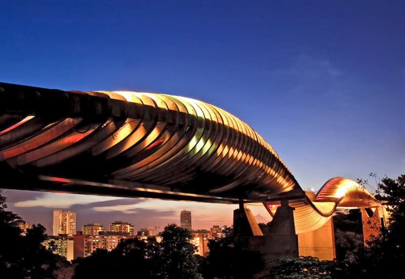 Geography Story: #5 The Henderson wave bridge in Singapore