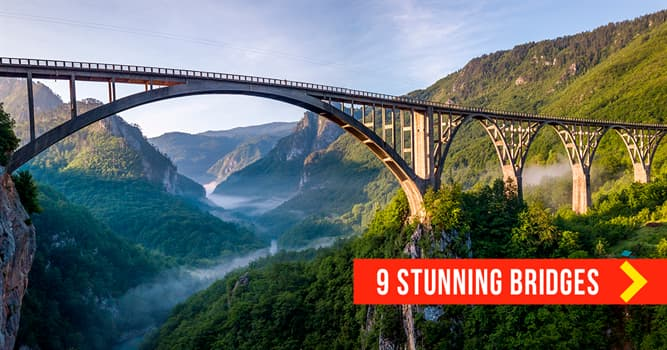 Geography Story: 9 exсeptional bridges that seem to lead to a new world