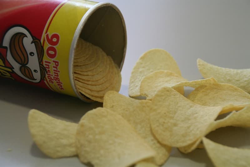 Geography Story: #4 The ashes of Fredric Baur, the man who created the notable Pringles can, was buried in... a Pringles can after he passed away in 2008.