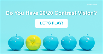 color Quiz Test: Do You Have 20/20 Contrast Vision?