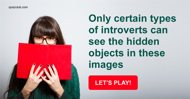 Quiz Test: Only Certain Types Of Introverts Can See The Hidden Objects In These Images