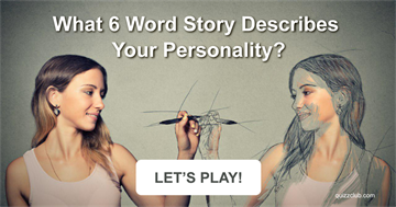 What 6 Word Story Describes Your Personality?