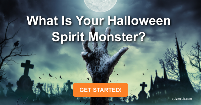 What Is Your Halloween Spirit Monster?