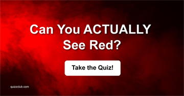 color Quiz Test: Can You ACTUALLY See Red?