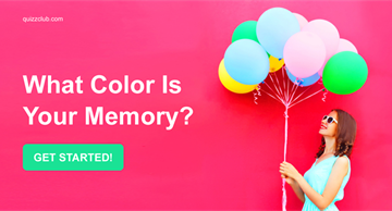 Quiz Test: What Color Is Your Memory?