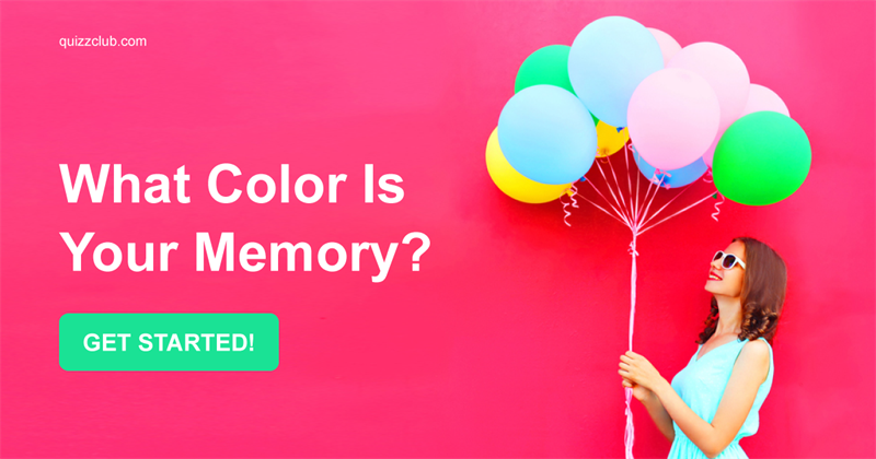 What Color Is Your Memory?