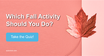 Nature Quiz Test: Which Fall Activity Should You Do?