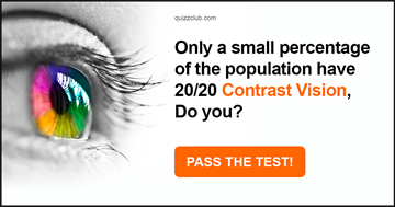 Quiz Test: Only A Small Percentage Of The Population Have 20/20 Contrast Vision, Do You?