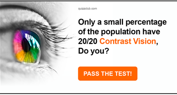 color Quiz Test: Only A Small Percentage Of The Population Have 20/20 Contrast Vision, Do You?