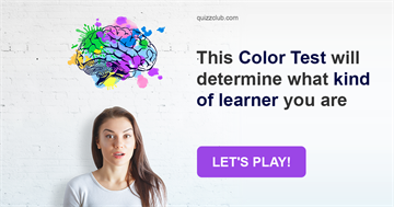 Quiz Test: This Color Test Will Determine What Kind Of Learner You Are
