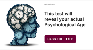 Personality Quiz Test: This Test Will Reveal Your Actual Psychological Age