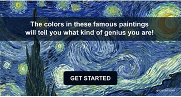 Quiz Test: The Colors In These Famous Paintings Will Tell You What Kind Of Genius You Are!
