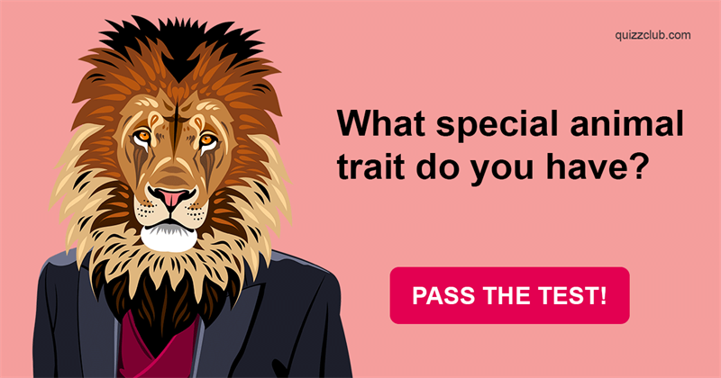 Nature Quiz Test: What Special Animal Trait Do You Have?
