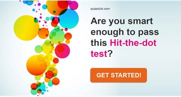IQ Quiz Test: Are You Smart Enough To Pass This Hit-The-Dot Test?