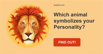 Quiz Test: Which animal symbolizes your Personality?