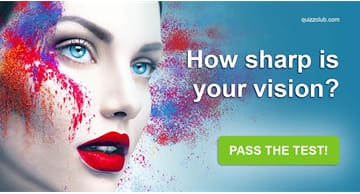 IQ Quiz Test: How Sharp Is Your Vision?