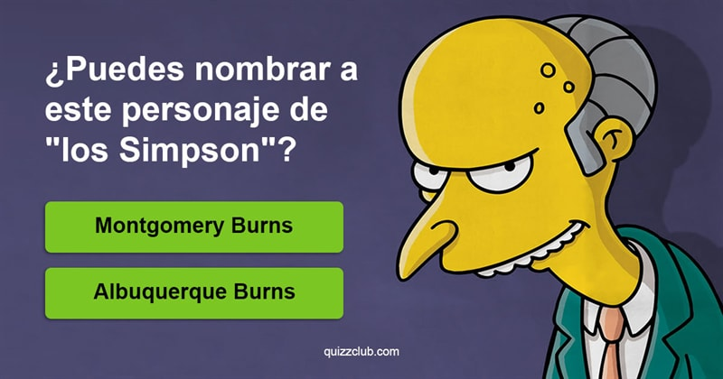 """Cultura Quiz Test: ¿Puedes nombrar 66 personajes de """"Los Simpsons""""?"""