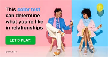Quiz Test: This Color Test Can Determine What You're Like In Relationships
