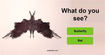 Quiz Test: This Inkblot Test Can Determine Your Greatest Fear
