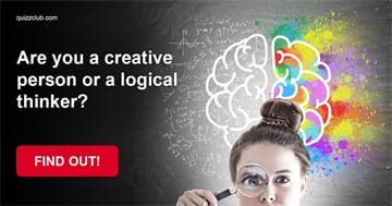Personality Quiz Test: Are you a highly creative person or are you more of a logical thinker?