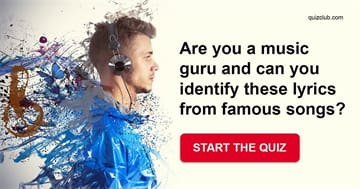 Personality Quiz Test: Are You A Music Guru And Can You Identify These Lyrics From Famous Songs?
