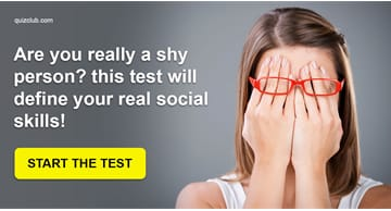 Personality Quiz Test: Are You Really A Shy Person? This Test Will Define Your Real Social Skills!
