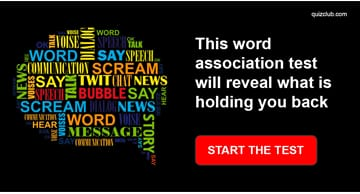 Personality Quiz Test: This Word Association Test Will Reveal What Is Holding You Back