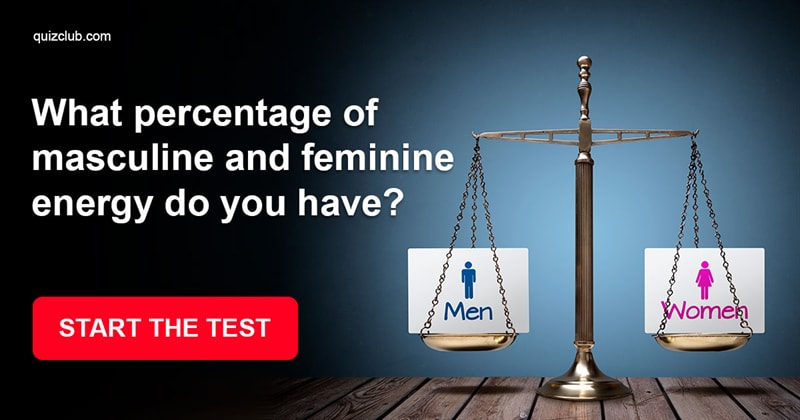 What Percentage Of Masculine And    | Personality Test