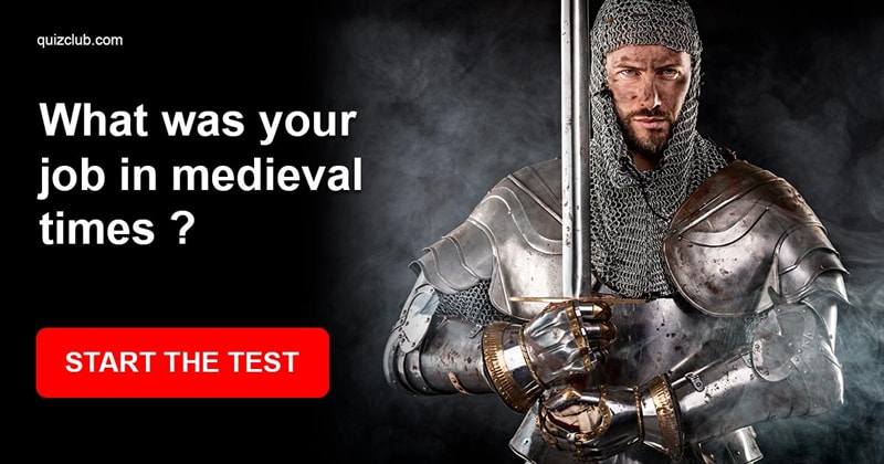 History Quiz Test: What Was Your Job in Medieval Times ?