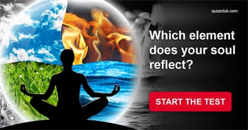 Nature Quiz Test: Which Element Does Your Soul Reflect?