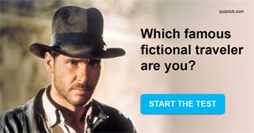 Personality Quiz Test: Which Famous Fictional Traveler Are You?