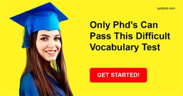 language Quiz Test: Only Phd's Can Pass This Difficult Vocabulary Test