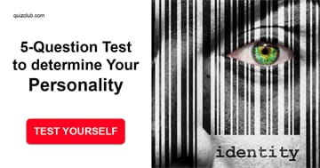 Personality Quiz Test: This 5-Question Test Can Determine Your Actual Personality