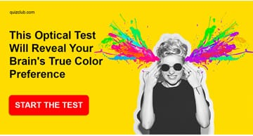 Personality Quiz Test: This Optical Test Will Reveal Your Brain's True Color Preference
