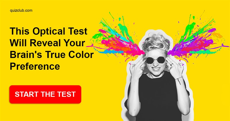 Quiz Test: This Optical Test Will Reveal Your Brain's True Color Preference