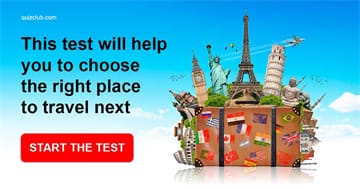 Personality Quiz Test: This test will help you to choose the right place to travel next