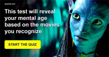 Movies & TV Quiz Test: This Test Will Reveal Your Mental Age Based On The Movies You Recognize